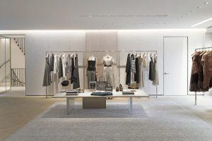 Intérieur de la nouvelle boutique Dior
